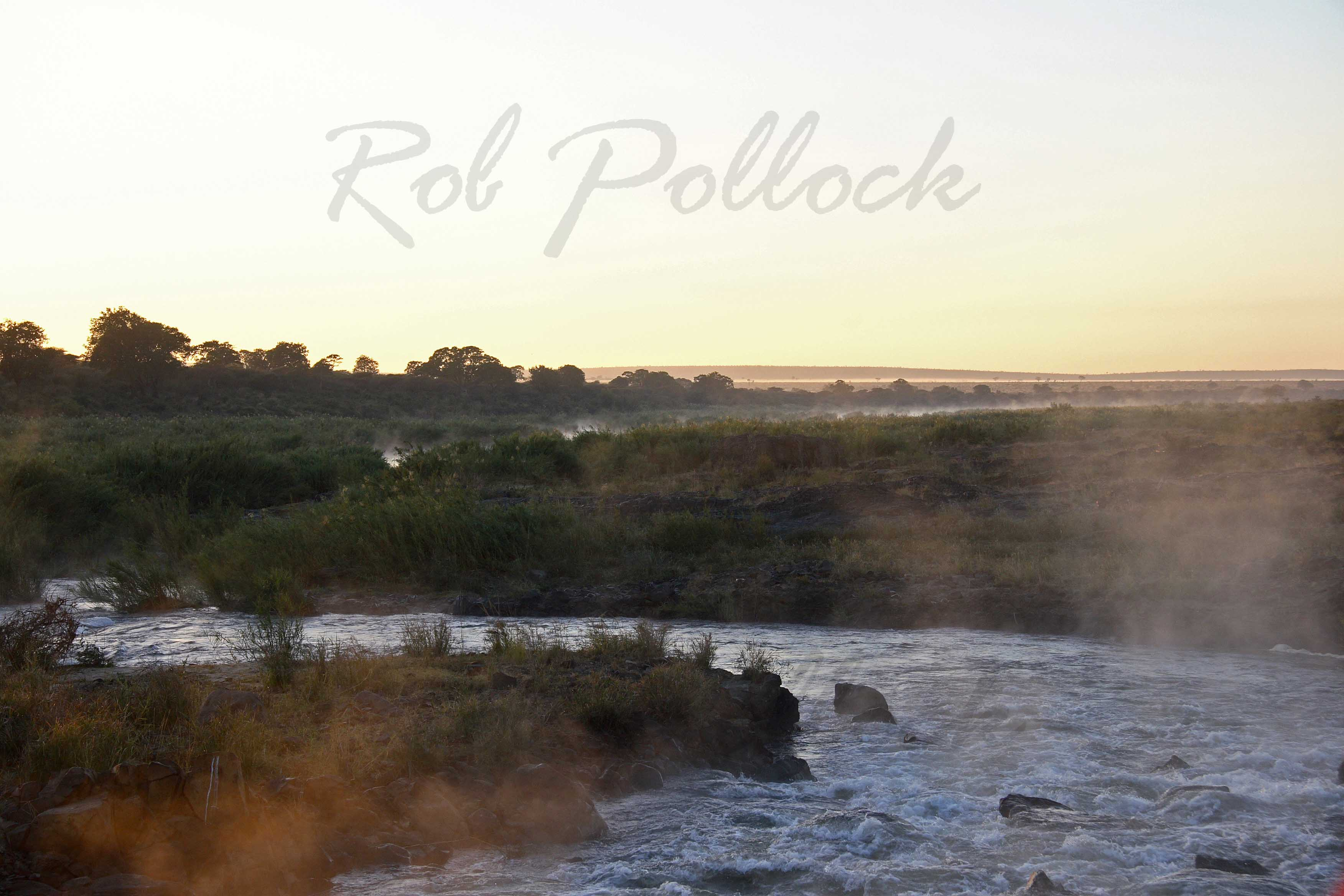 Dawn at Letaba River, Kruger National Park